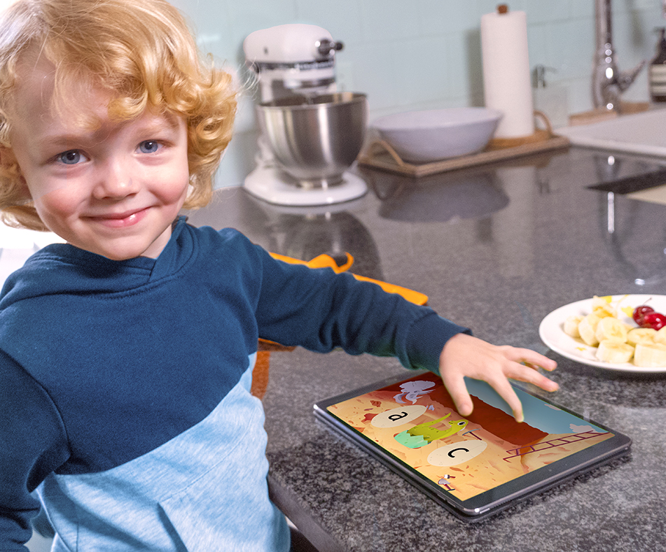Making Kids Meal Time Learning Time with HOMER's Help